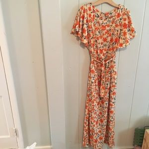 Deepika Padukone floral maxi dress
